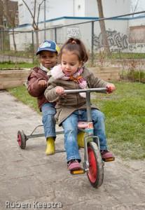 samen op de fiets
